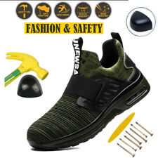 Mens Work Boots Steel Toe Cap Trainers Shoes Casual Lightweight Safety Sneakers