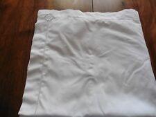 Ancienne taie d oreiller pur coton jours incrustation dentelle 66 x 68