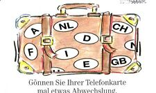 801 SCHEDA TELEFONICA PHONECARD USATA GERMANIA GERMANY REISEKOFFER 1