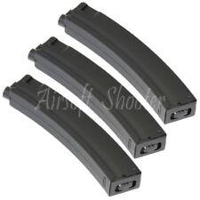 Airsoft Gear CYMA 3pcs 260rd Mag Hi-Cap Magazine For AEG MP5-Series Black