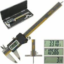"iGaging Electronic Caliper ABSOLUTE ORIGIN 6"" Digital Depth Gauge Base Fractions"