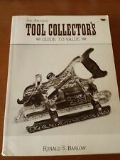 THE ANTIQUE TOOL COLLECTOR'S GUIDE TO VALUE BY PAUL BARLOW