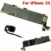 For iPhone 5S Main Motherboard Logic Board w/without Touch ID 16GB 32GB Unlocked