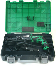 Hitachi Dh 28PCY Sds-Plus Hammer Drill Hammer Drill 850W Drill in Case