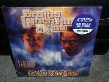 Brotha Lynch Hung C-Bo Blocc Movement 2021 RSD LP Clear with Blue Splatter Vinyl