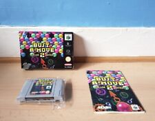 Bust A-Move Arcade 2 Edition N64 Complete Good Con