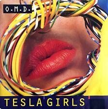 """O.M.D. 7"""" Tesla Girls - France (EX/VG+)"""