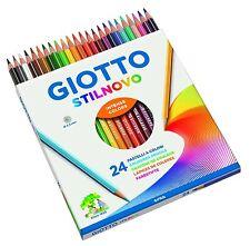 Colori Scuola Pastelli GIOTTO STILNOVO Matite Colorate 3,3 MM Confezione da 24pz