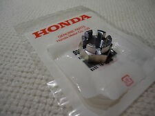 HONDA REAR AXLE CASTLE NUT ELSINORE CR250 CR250M MR250 MT250 XL250 XL350 OEM