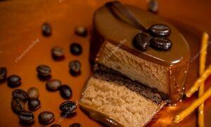 Coffee cocoa mousse dessert chocolate glaze food DIGITAL ART PHOTO PICTURE JPEG
