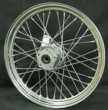 """Chrome Ultima 40 Spoke Front 19x2.50"""" Wheel for Softail and FXDWG 1984-1999"""