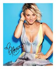 KALEY CUOCO AUTOGRAPHED SIGNED A4 PP POSTER PHOTO