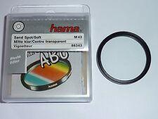 Weichzeichner  Sand Spot-Mitte klar  43mm  HAMA  auch für Leica