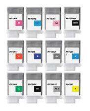 12 Ink Set für Canon iPF6300 iPF6350 iPF6400 / PFI-105 PFI-106 Cartridge 130ml