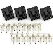 CRJ PCI-E Female 8-Pin 6+2 Power Connector Kit, Set of 4