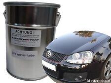 3 Litros Base de agua Para pulverizar Pintura VW Golf 5 LB9A Candy Blanco Tuning