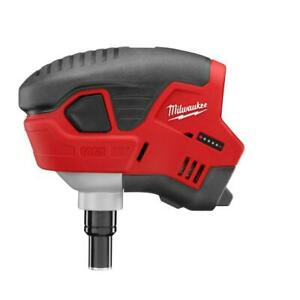 Milwaukee 2458-20 M12 12-Volt Palm Nailer w/ Hand Strap - Bare Tool