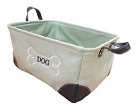 Pet Toy and Accessory Storage Bin Organizer Storage Basket Leashes and Food US