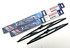 Bosch Front Wiper Blade Set - Window Windscreen Wiper Blades (SP24/24)