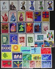 LIECHTENSTEIN nice stamp collection made up of 42 different Mint NH (lotAF284)