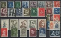 AE141093/ NETHERLANDS - PAINTINGS / COLLECTION 1941 - 1962 MNH CV 140 $