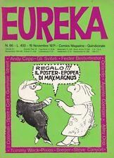 EUREKA n. 66 - EDITORIALE CORNO - NOVEMBRE 1971