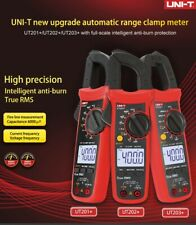 UNI-T Digital Clamp Meter True RMS Multimeter AC DC Volt Amp Ohm Cap NCV Tester