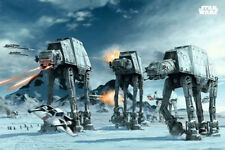 STAR WARS: EPISODE V - EMPIRE STRIKES BACK - MOVIE POSTER (BATTLE OF HOTH)