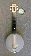 Magic Fluke M80W Firefly Banjo-Ukulele, USA made, MAPLE open back body, soprano