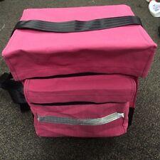 Canvas Mining Tool Bag/Crib Bag toolbag 100% Australian Made hi vis pink