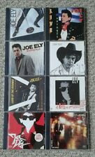 JOE ELY 8 CD's SELF TITLED Antones LORD HIGHWAY Dig all night DRAG shots MUSTA