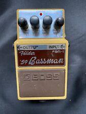 TOP: BOSS FENDER BASSMANN 59 - Gitarreneffekt - Effektgerät - Gitarre
