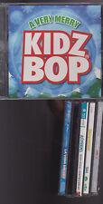 Kids & Teens CD Lot of 6 Kidz Bop A*Teens Disney Mickey Mouse