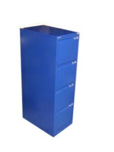 Bisley Hängeregistraturschrank 4 Schübe DIN A4 Registraturschrank Oxfordblau