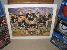 Raiders Ken Stabler, Howie Long Jim Otto Fred Biletnikoff Lester Hayes  & more