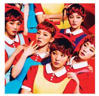 """K-PoP RED VELVET 1ST MINI Album """"The RED"""" [ 1 Photobook + 1 CD ]"""