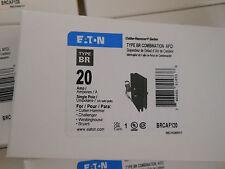 Cutler Hammer Eaton BRCAF120 AFCI combination ARC fault BR 20amp circuit breaker