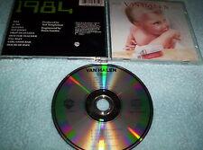 VAN HALEN - 1984 CD RARE EARLY SWISS PRESSING MEGARARE Switzerland pre TARGET