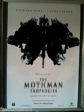 Cinema Poster: MOTHMAN PROPHECIES 2002 (Advance One) Richard Gere Laura Linney