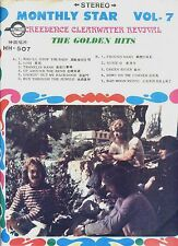 CREEDENCE CLEARWATER REVIVAL golden hits MONTHLY STAR VOL 7  / TAIWAN EX LP RARE