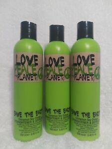 Tigi Love Peace & The Planet Save The Earth Straightener Defrizzer 250ml -3