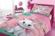 Marie Aristocats 100% Cotton Bedding Duvet Cover Set Bedding Set Marie Kitty