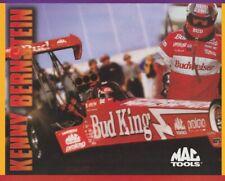 1998 Kenny Bernstein Mac Tools Top Fuel NHRA postcard