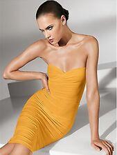 WOLFORD Golden Honey Convertible Fatal Dress  SZ XS - NIB