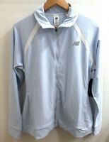 New Balance Women's Size XL Heather Blue White Running Fitness Jacket NWT  02
