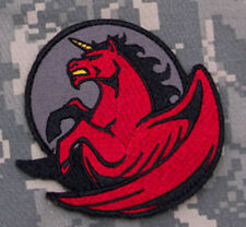 Mil-Spec Monkey Pegasus Unicorn Morale Patch Fire Hook Back