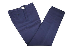 Incotex NWT Flat Front  Casual / Dress Pants Size 40 in Navy