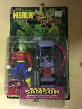 Hulk Smash and Crash Doc Samson ToyBiz Marvel Comics Action Figure 1997
