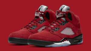 Nike Air Jordan Retro 5 Raging Bull Toro Bravo 2021 DD0587-600 GS MEN Size 4Y-13