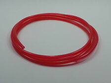 "7' 1/4""ID / 6mm FUEL LINE CYCLE ATV Quad Gas Dirt Bike Hose Tube Jet Ski RED"